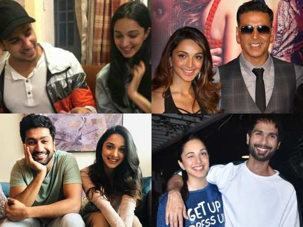 Birthday girl Kiara Advani's happy pictures with her co-stars