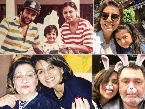 Happy Birthday Neetu Kapoor: Check out her cutest family pictures
