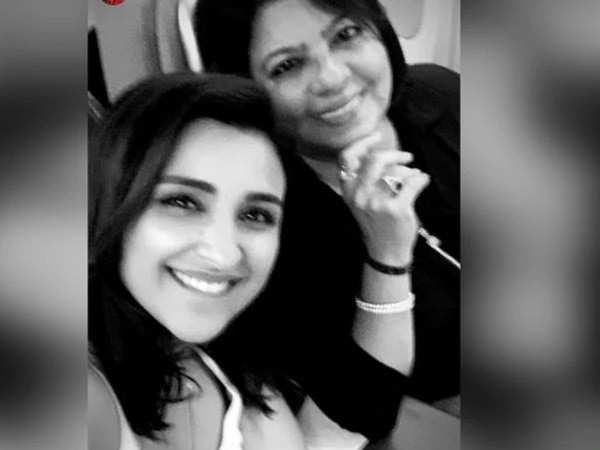 Parineeti and Madhu Chopra head to the States for Priyanka Chopra's birthday