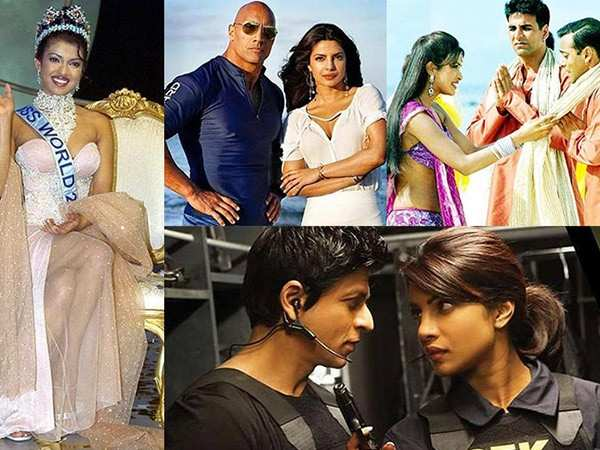 Check out Priyanka Chopra's journey in showbiz through these pictures