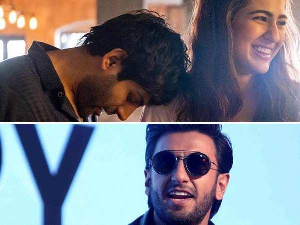 Ranveer Singh reminds Kartik Aaryan and Sara Ali Khan that he acted as their Cupid