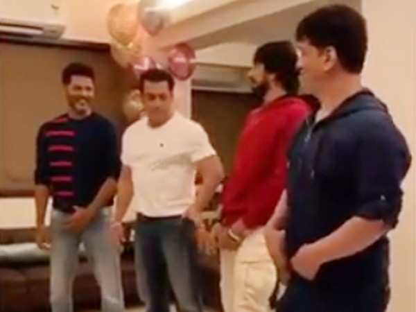 Check out Salman Khan's killer moves on Prabhudeva's Urvashi