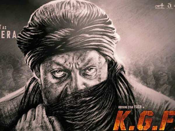 Sanjay Dutt's look as Adheera from KGF: Chapter 2 is too good to miss