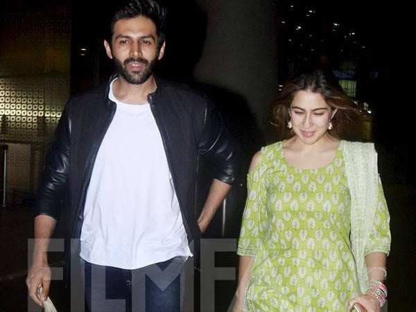 Sara Ali Khan heads to Lucknow to meet Kartik Aaryan?
