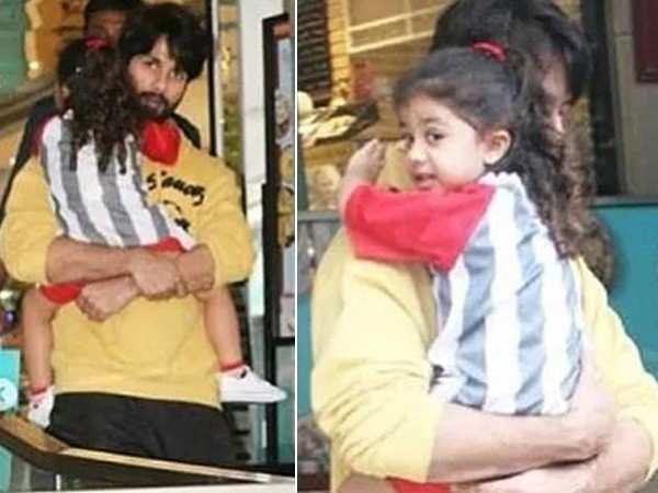 Shahid Kapoor steps out with daughter Misha Kapoor