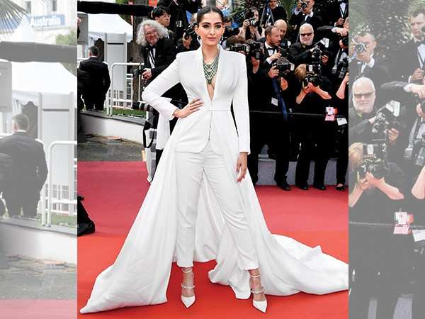 5 ways to rock a pant suit like Sonam Kapoor