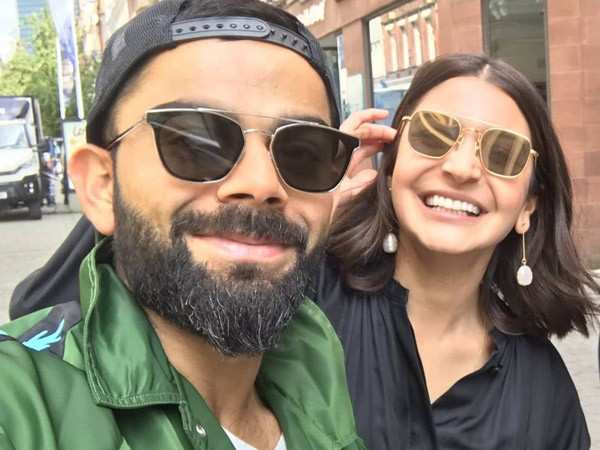 Virat Kohli and Anushka Sharma chill together in Manchester