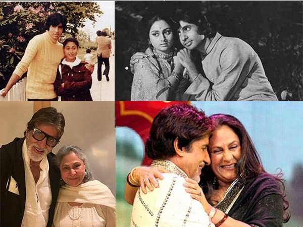 Photos of Amitabh and Jaya Bachchan that reflect their love journey