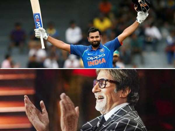 Amitabh Bachchan appreciates Rohit Sharma's take on Pakistani batsmen