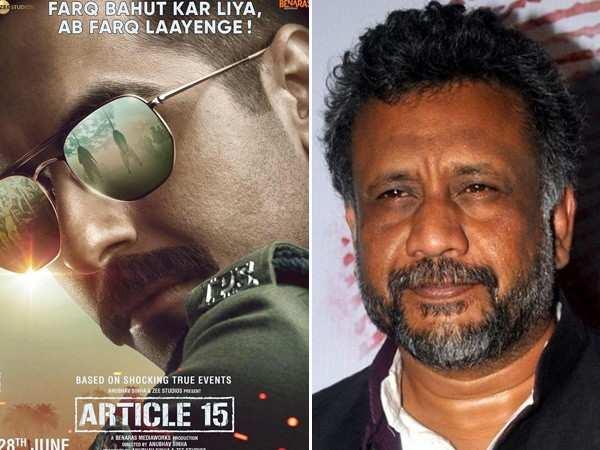 Ayushmann was an absolute natural while playing a cop - Anubhav Sinha