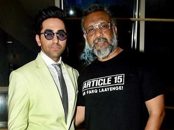 """I love Ayushmann & I want to make a lot of films with him.""– Anubhav Sinha"