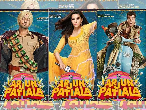 Check out these quirky character posters of Arjun Patiala