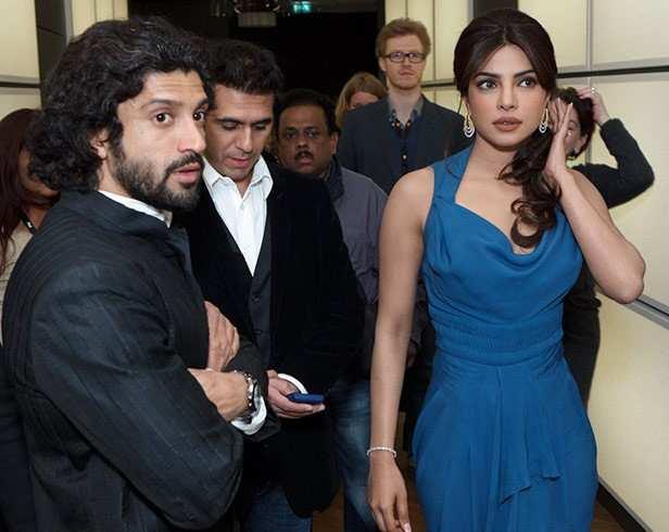Farhan Akhtar and Priyanka Chopra