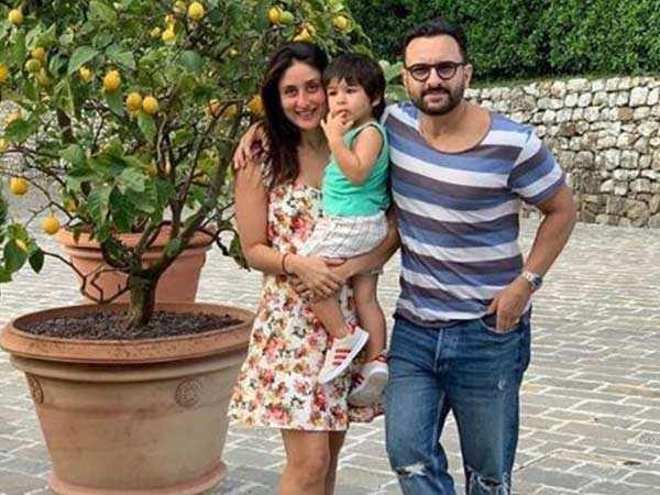 Kareena, Taimur and Saif Ali Khan soak up the Tuscany sun