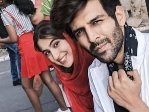 Kartik Aaryan and Sara Ali Khan are enjoying shooting in Himachal