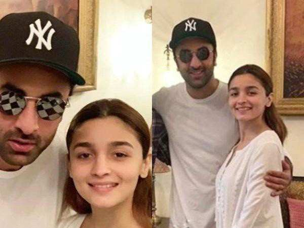 Latest pictures of Ranbir Kapoor and Alia Bhatt from Varanasi