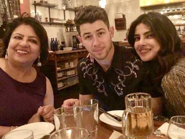 Priyanka Chopra and Nick Jonas ring in Madhu Chopra's birthday in Boston