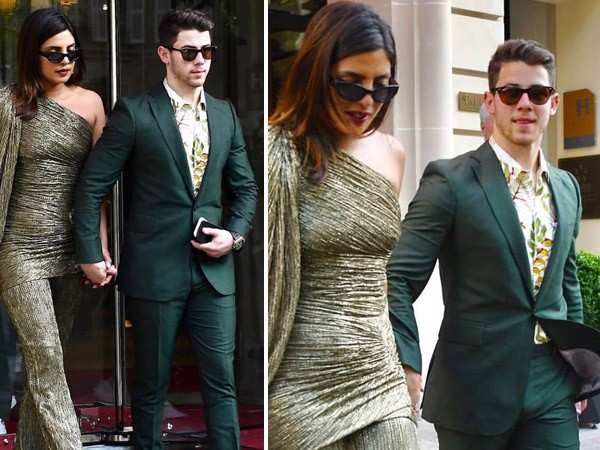 We can't get enough of these pictures of Priyanka Chopra Jonas & Nick Jonas