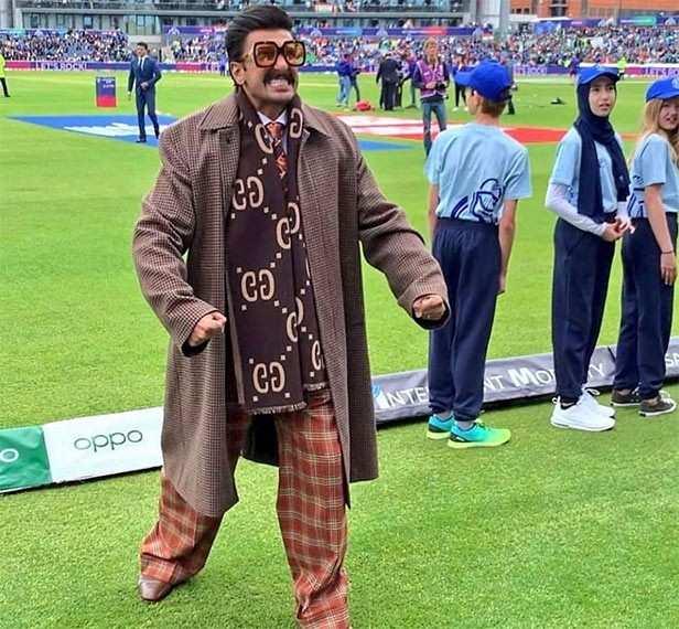Ranveer Singh Team India