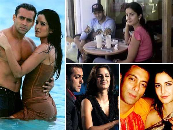 Pictures of Salman Khan and Katrina Kaif that'll take you back in time