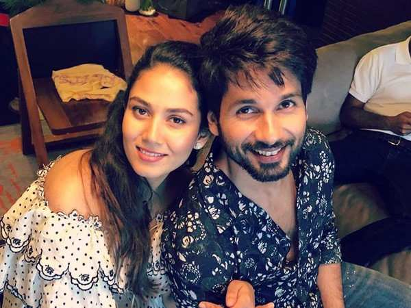 Mira Kapoor just shared Shahid Kapoor's 16-year challenge and we aren't surprised