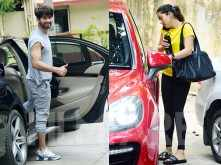 Photos: Shahid Kapoor and Mira Kapoor hit the gym