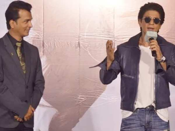 Shah Rukh Khan launches the trailer and music of Vikram Phadnis' Marathi film, Smile Please