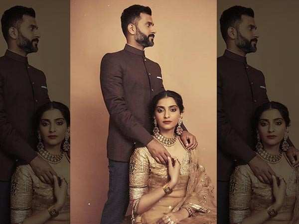 """""""How did I get so lucky to marry my best friend…"""" – Sonam Kapoor Ahuja"""