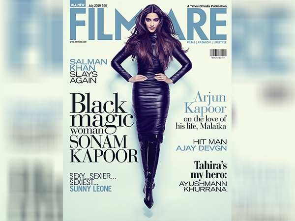 Sonam Kapoor stuns on the latest cover of Filmfare