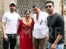 Vicky Kaushal steps out for lunch with family