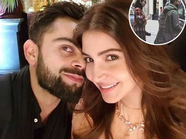 Anushka Sharma and Virat Kohli clicked together in London