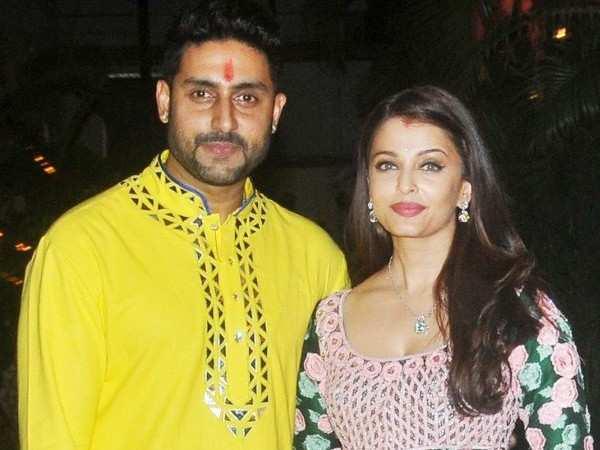 Abhishek and Aishwarya Rai Bachchan snapped during their New York vacay