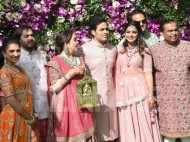 The Ambanis look regal as they kick-start the wedding festivities in Mumbai