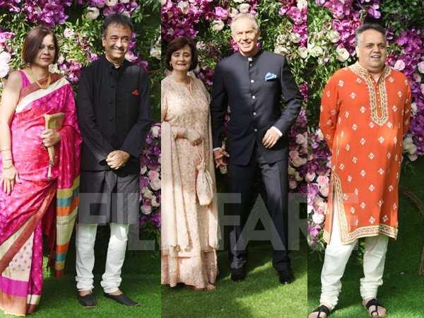 Akash Ambani and Shloka Mehta wedding: Tony Blair, Raju
