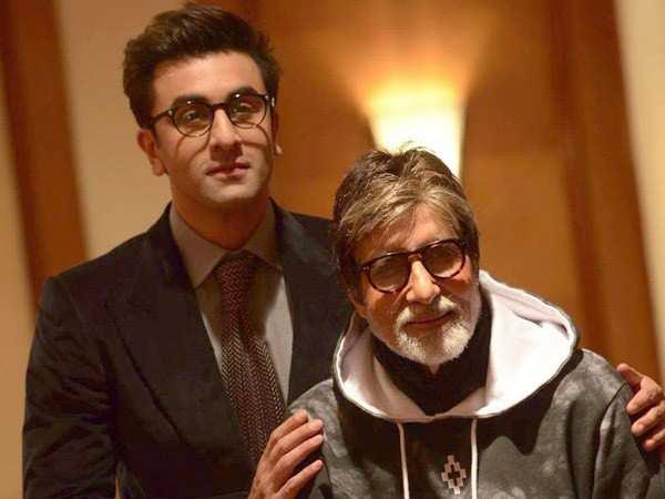 Amitabh Bachchan can't stop praising Ranbir Kapoor's acting skills