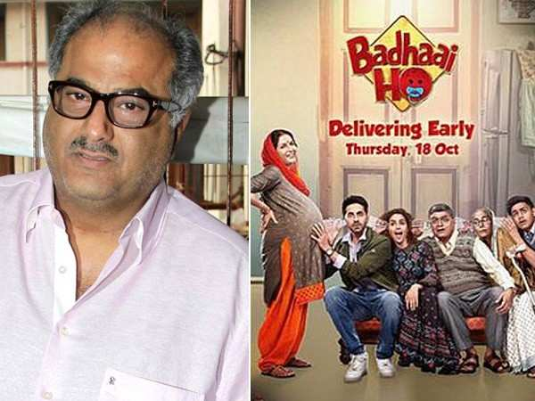 Boney Kapoor to remake Badhaai Ho down South in different languages