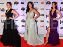Katrina Kaif, Kriti Sanon, Deepika Padukone at 64th Vimal Filmfare Awards