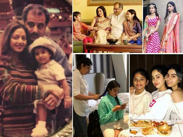 22 endearing family pictures of birthday girl Janhvi Kapoor