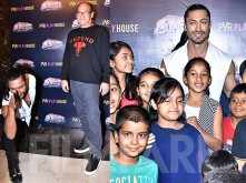 Chuck Russell & Vidyut Jammwal Watch Junglee With Kids