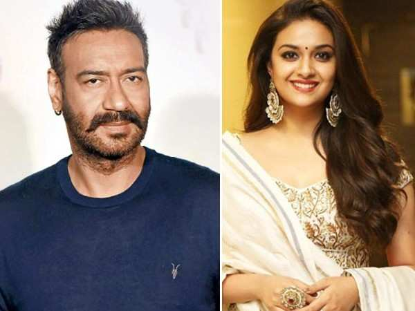 Keerthy Suresh to star opposite Ajay Devgn in an upcoming biopic