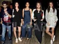Sara Ali Khan, Ananya Panday, Aanand L Rai and more watch Luka Chuppi