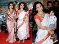 Kangana Ranaut parties with Ankita Lokhande at Manikarnika success bash
