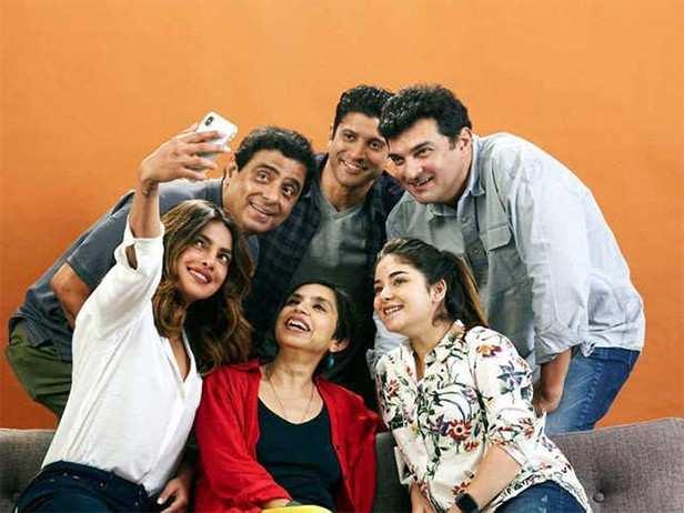 Priyanka Chopra, Filmfare, The Sky Is Pink, Farhan Akhtar, Shonali Bose