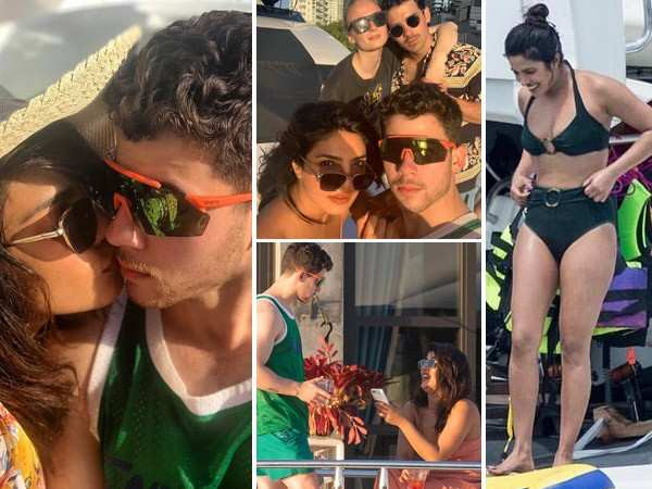 Fresh Pictures! Priyanka Chopra lets her hair down during her Miami vacay