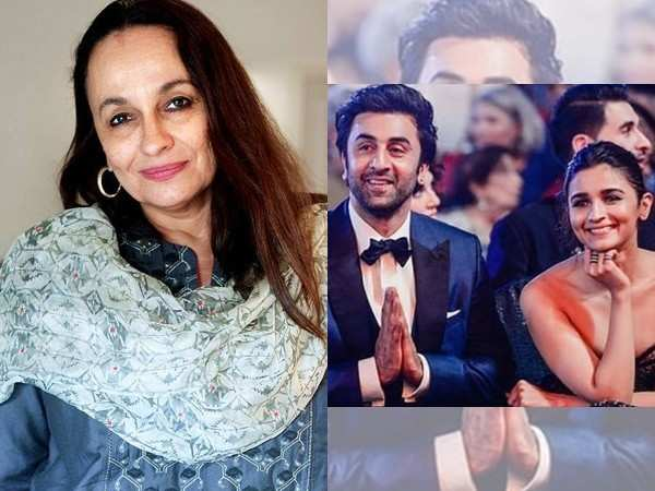 """Ranbir is a lovely boy, I'm happy if Alia is happy."" – Soni Razdan"