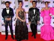 Ranbir Kapoor, Alia Bhatt, Sonam Kapoor grace the red carpet of 64th Vimal Elaichi Filmfare Awards