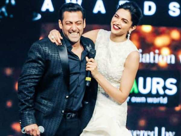 Salman Khan says there is no film in the pipeline with Deepika Padukone