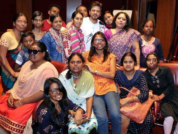 Shah Rukh Khan wants acid attack survivors to be their own hero