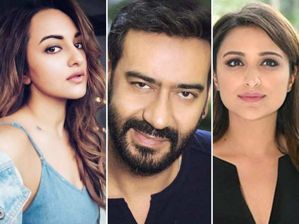 Sonakshi Sinha and Parineeti Chopra roped in for Ajay Devgn's next