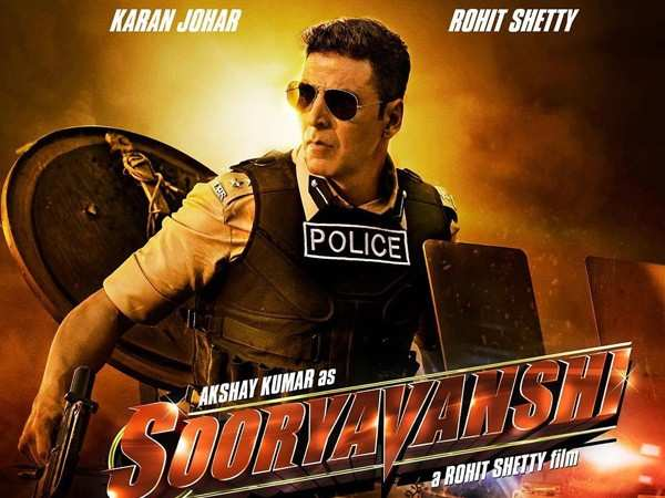 First look: Akshay Kumar is a fierce cop in Rohit Shetty's Sooryavanshi